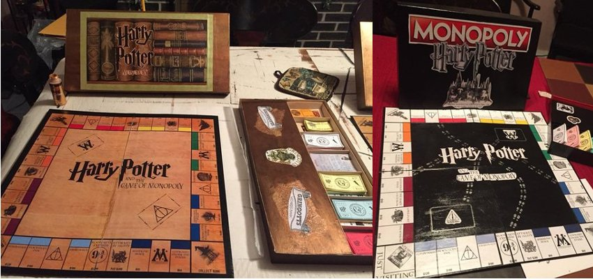 made to order harry potter monopoly