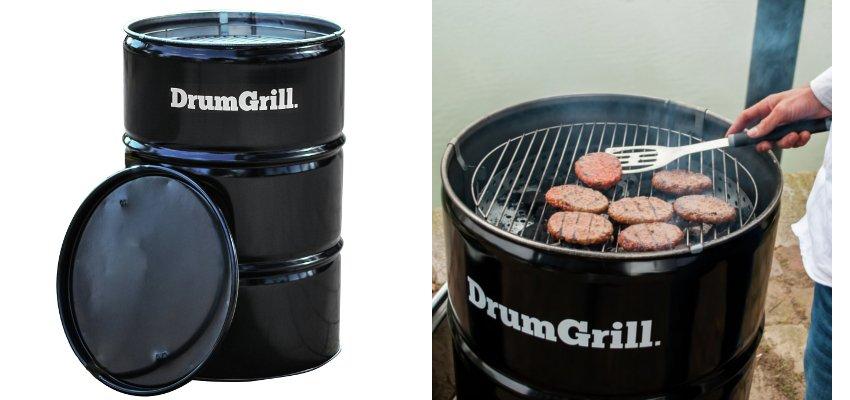 oil drum bbq grill 1
