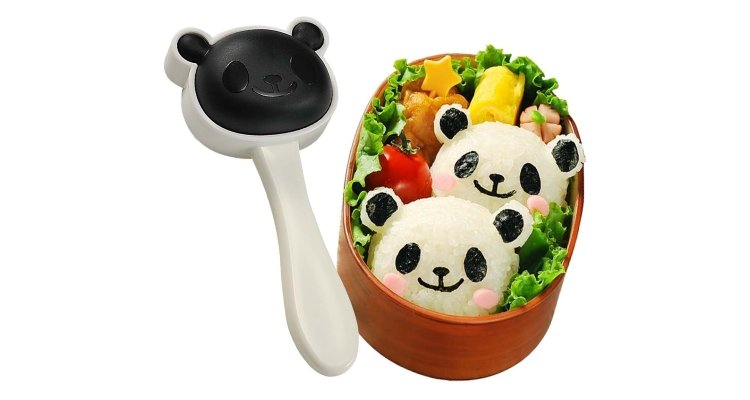 panda onigiri rice ball maker