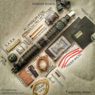 paracord survival bracelent