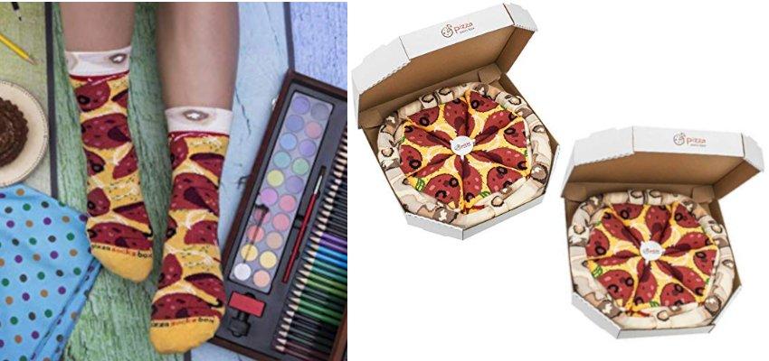 pepperoni pizza socks 1