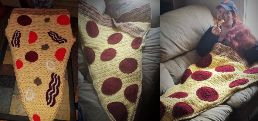 pizza sleeping bag 1