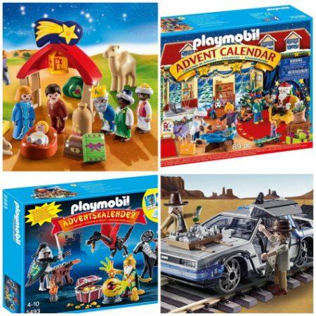 23 Playmobil Advent Calendars for 2021