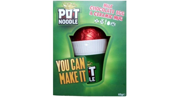 pot noodle easter egg