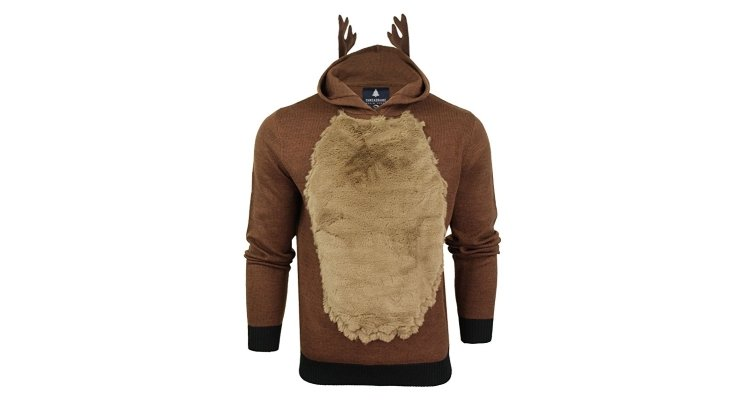 rudolph reindee antler christmas jumper