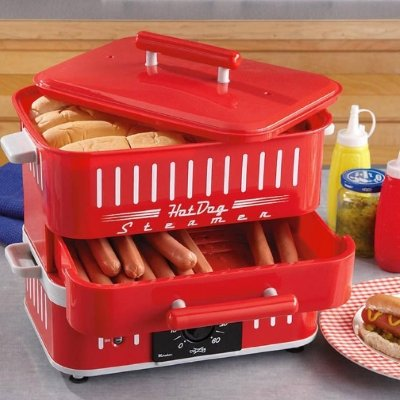 Retro Hot Dog Steamer