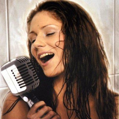 Retro Microphone Showerhead