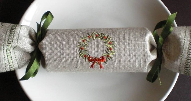 reusable woodland christmas cracker