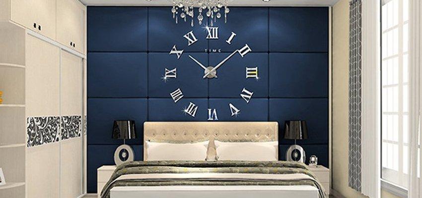 roman numerals diy wall clock