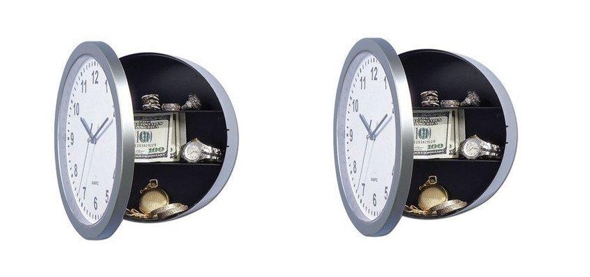 secret safe clock