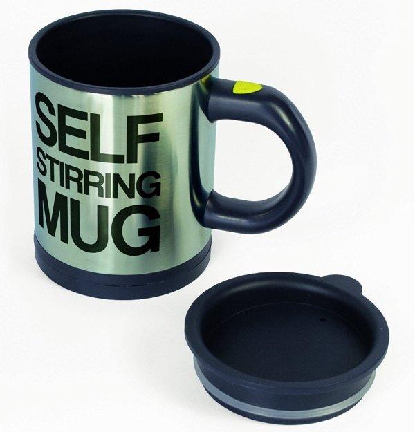 self stirring mug with lid