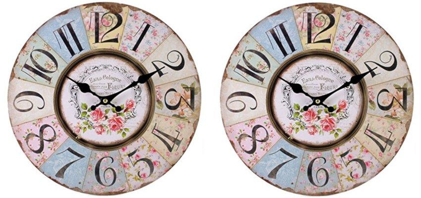 shabby chic vintage clock