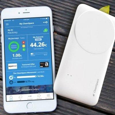 Smartphone Air Pollution Sensor