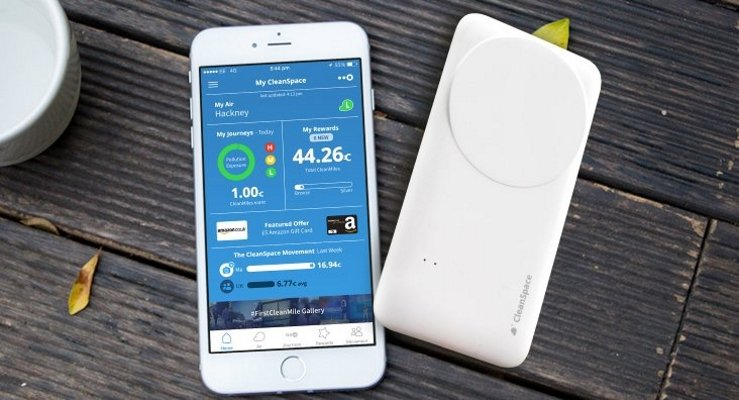 smartphone air pollution sensor