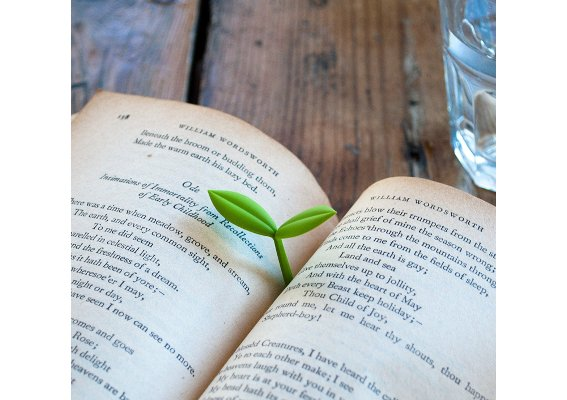 sprouting bookmark