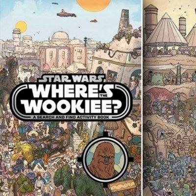 Where's the Wookiee? Search & Find Book