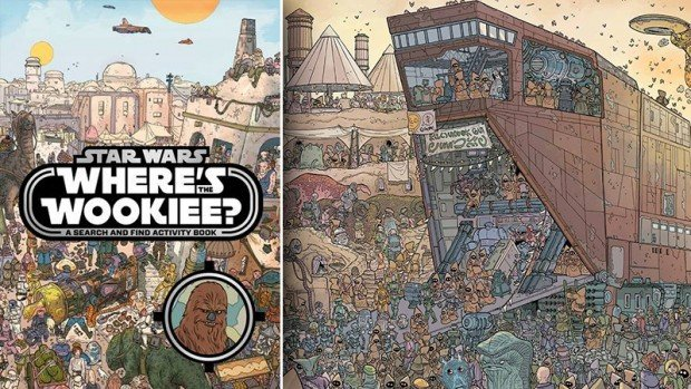 star wars where's the wookie book