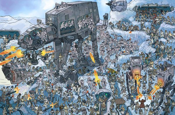 star wars where's the wookie sample 2