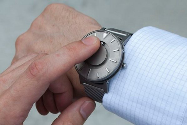 Eone Bradley Watch tactile timepiece