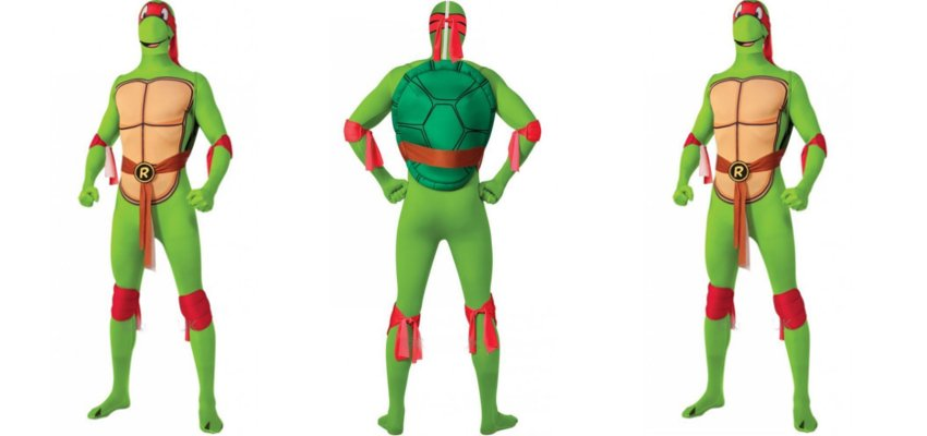 teenage mutant ninja turtles onesie 1
