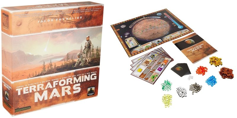 terraforming mars the board game