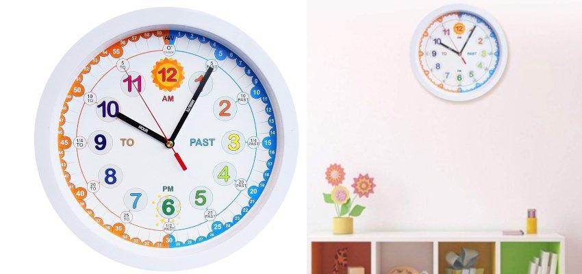 time teacher analogue clock