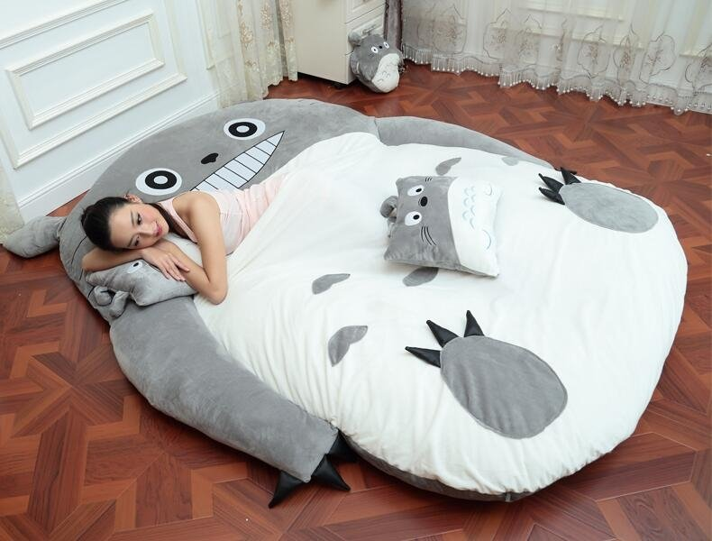 Giant Adult Sized Totoro Bed Warehouse Of Weird