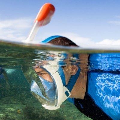 Easybreathe Full Face Snorkel Mask