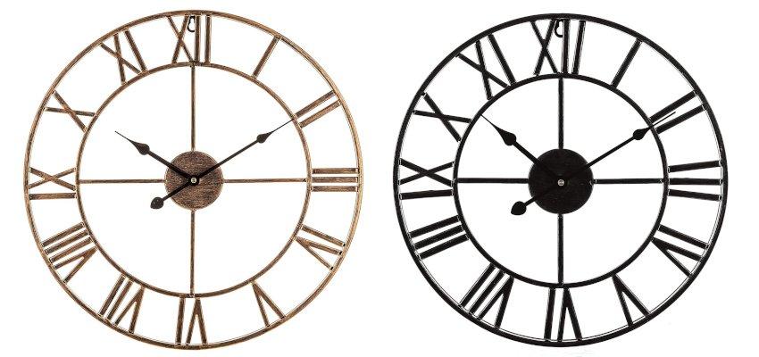 vintage skeleton clock
