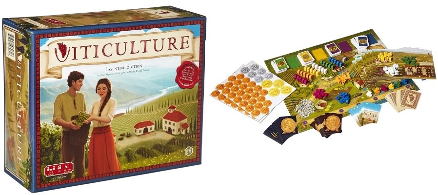 viticulture solo board game