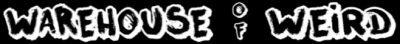 warehouse of weird logo black