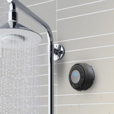 Waterproof Bluetooth Shower Speaker & Handsfree